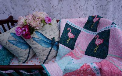Quilt Flamingo